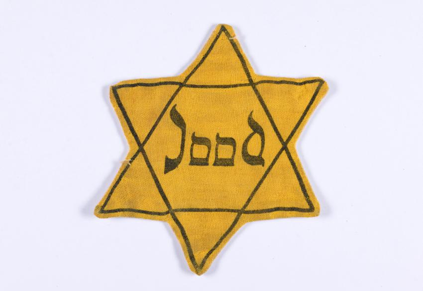 Jewish badge from the Netherlands