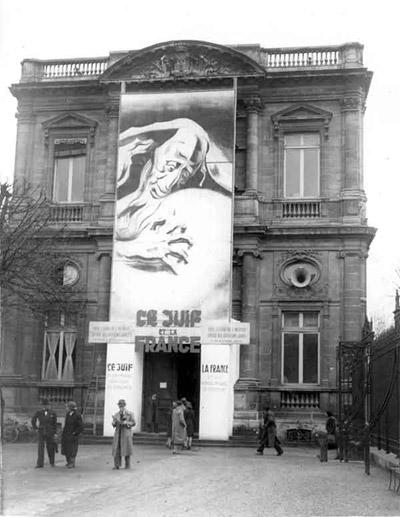 Anti-Semitic exhibition in Bordeaux, 1942