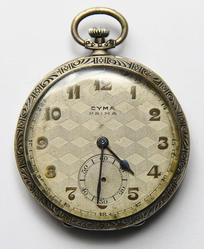 Watch that Benjamin and Nisan Anolik received from their uncle, Włodzimierz Poczter, before he was murdered