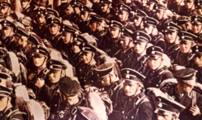 Germany, photographs of mass rallies of Nazis, 30s