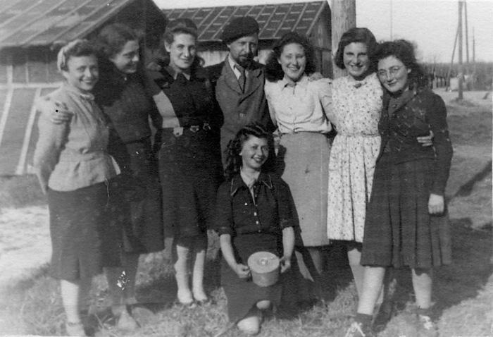 Gurs, France, Women in the camp