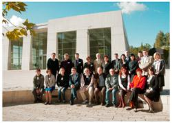 Seminar participants at Yad Vashem