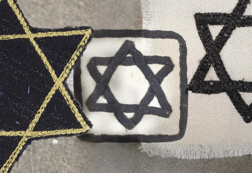 Jewish badges from Romania