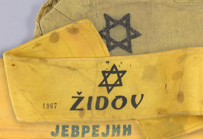 Jewish badges from Serbia
