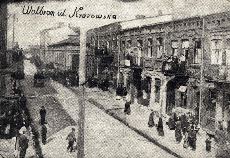 The Story of the Jewish Community in Wolbrom