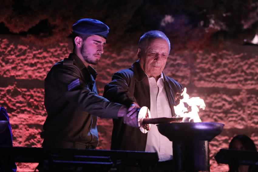 Photos from Official Events on Holocaust Remembrance Day 2021