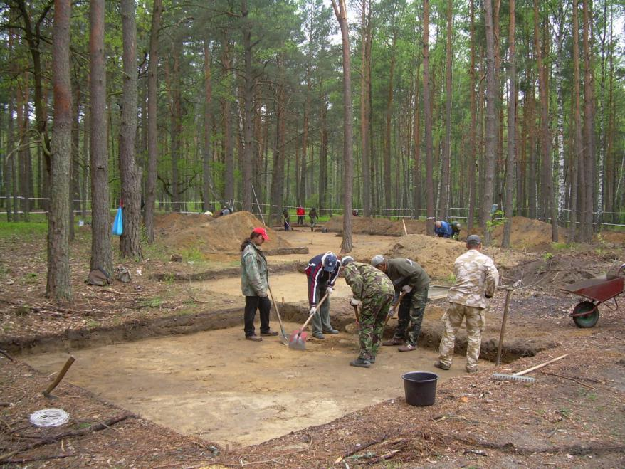 Archeological excavations at the Sobibor Death Camp
