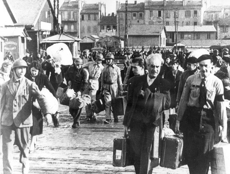 the deportation of the jews from france. Black Bedroom Furniture Sets. Home Design Ideas