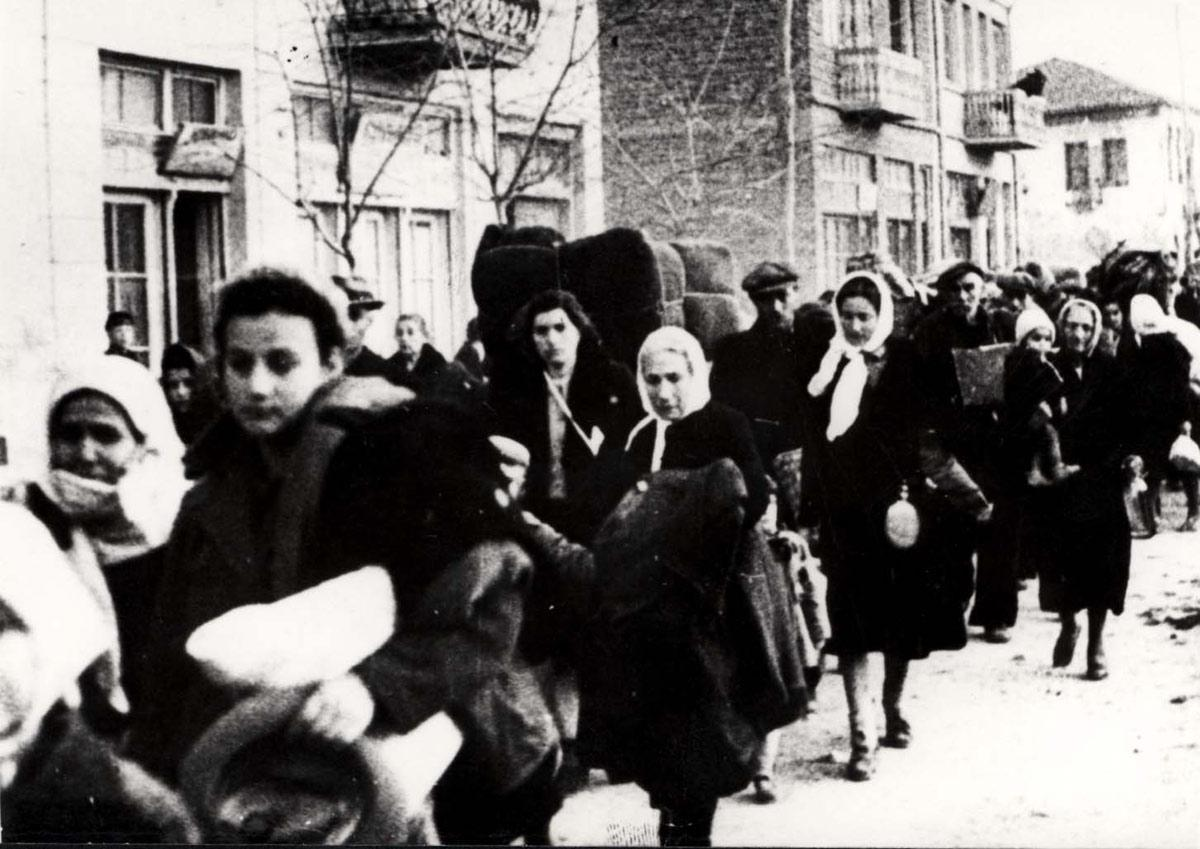Greece, Deportation of Jews from Northern Greece to a Concentration Camp in Poland