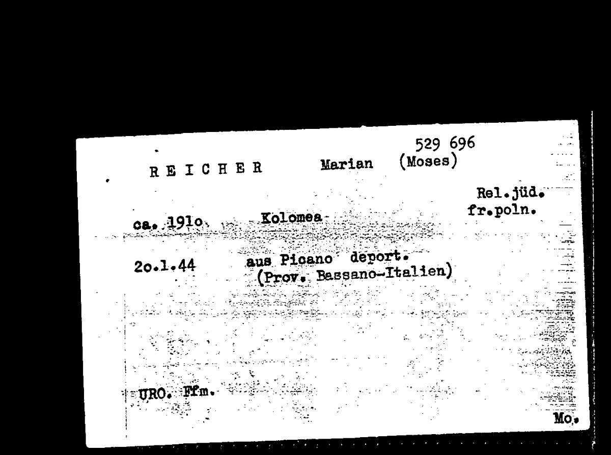 Scanned document found in the Yad Vashem Archives