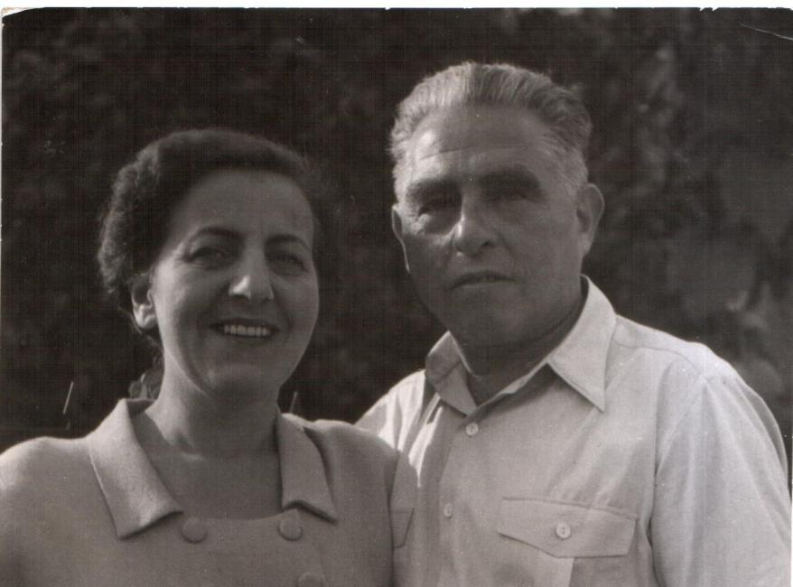 Stefan Tabaczynski (né Alfred Zielony) and his wife Irena, who rescued him during WWII