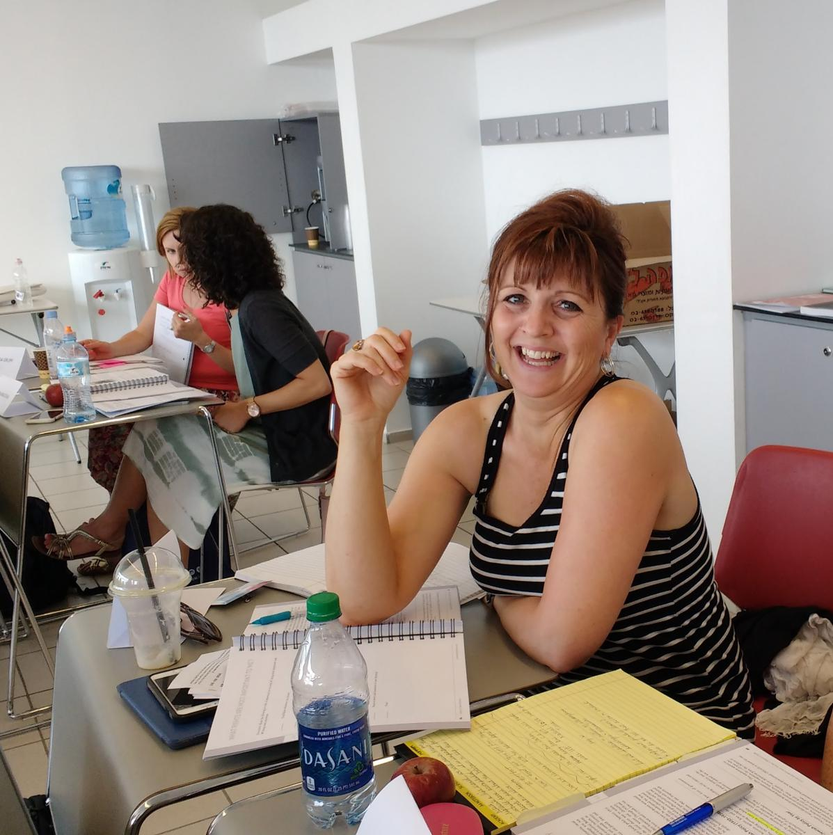 Heidi Omlor at the Echoes & Reflections Advanced Learning Seminar in June 2018