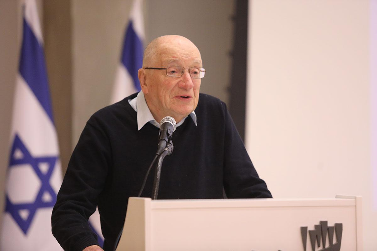 Haim Roet, Chairman of the Israeli Committee to Honor the Heroism of Jewish Rescuers during the Holocaust