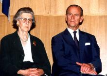 The Ceremony at Yad Vashem in Honor of Princess Alice, 30 October 1994