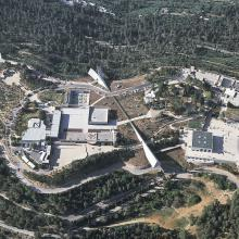 Aerial view of Yad Vashem