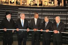 Visit of President Obama to Yad Vashem, March 22, 2013