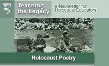 Holocaust Poetry - March 2006