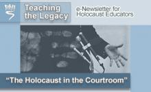 """The Holocaust in the Courtroom"" - September 2007"