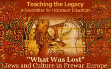 Jews and Culture in Prewar Europe - July 2009
