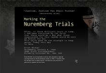 Justice, Justice You Shall Pursue - Marking the Nuremberg Trials