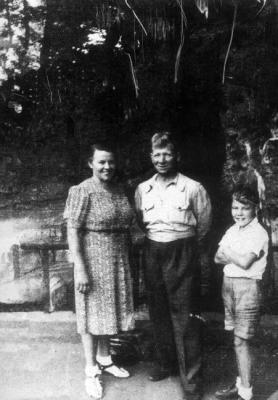 The Crum family after the war