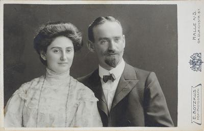 Jeanette and Julius Schocken