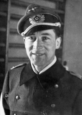 Hosenfeld in Warschau, April 1942