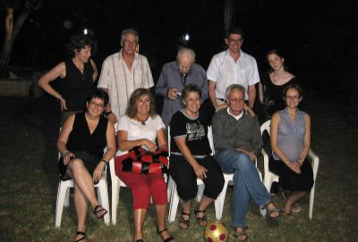 Dashut family gathering, Israel, 2009