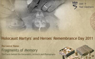 Holocaust Martyrs' and Heroes' Remembrance Day 2011