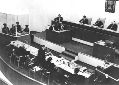 The Eichmann trial at the regional court, 1961
