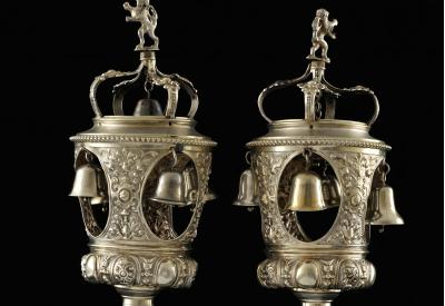 Plundered Torah Finials Restored