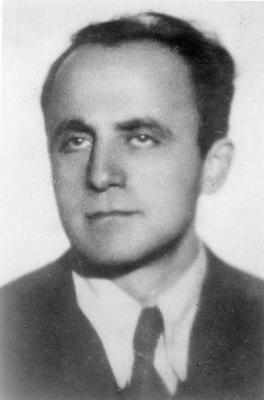 Dr. Emanuel Ringelblum, the founder of the Oneg Shabbat Archives in the Warsaw ghetto