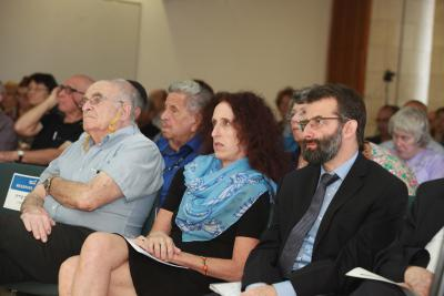 "Participants in the symposium on ""Killing Sites in the Occupied Territories of the Former USSR: History and Commemoration"". Yad Vashem, 28 September 2016"