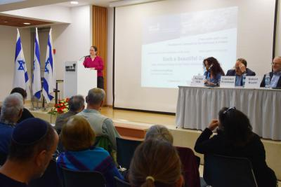 "Prof. Havi Dreifuss, Director of Yad Vashem's Center for Research of the Holocaust in Poland, praised Prof. Engelking's efforts to ""give a voice both to the survivors and to those who were murdered."""