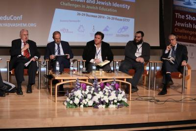 A panel session featuring leaders of Jewish institutions in the US, France, Argentina, Russia and Israel tackled the topic of how the Holocaust shapes contemporary Jewish identity