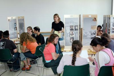 Educational activities at the The International School for Holocaust Studies
