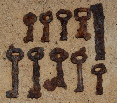House and suitcase keys