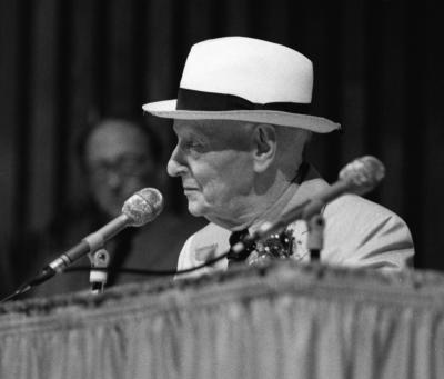 יצחק בשביס זינגר, Isaac Bashevis Singer, Miami Book Fair International, 17 November 1988