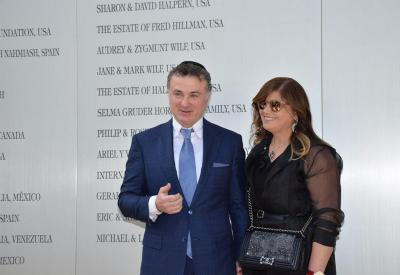 Michael and Laura Mirilashvili