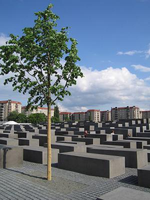 The new Memorial to the Murdered Jews of Europe, designed by Peter Eisenman, Berlin