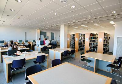 The Central Reading Room in the Archives and Library Building