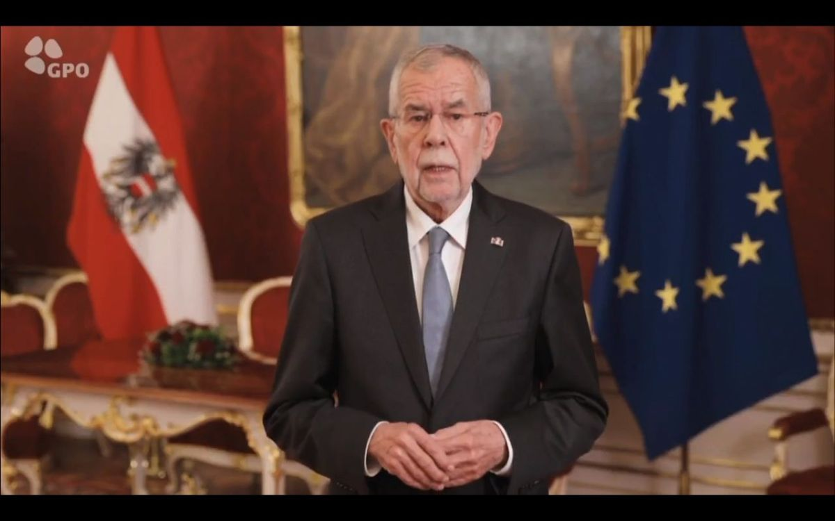 "President of Austria H.E. Mr. Alexander Van der Bellen: ""We will remember and never forget"""