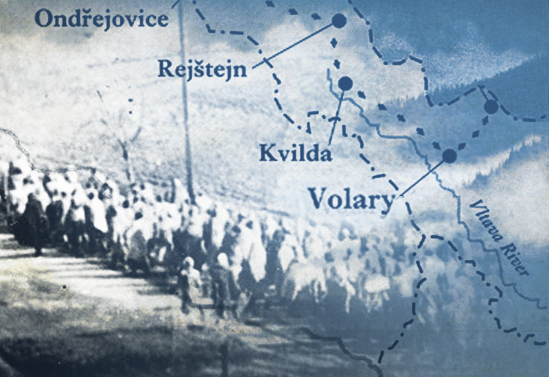 The Death March to Volary - 1300 women. 500 miles. 106 days.