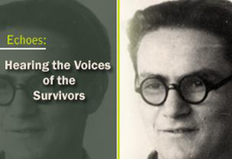 <p>Echoes: Hearing the Voices of the Survivors</p>
