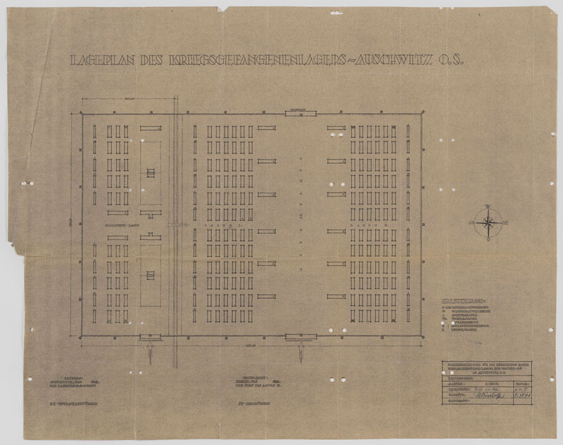 Architecture of murder the auschwitz birkenau blueprints the construction malvernweather Image collections