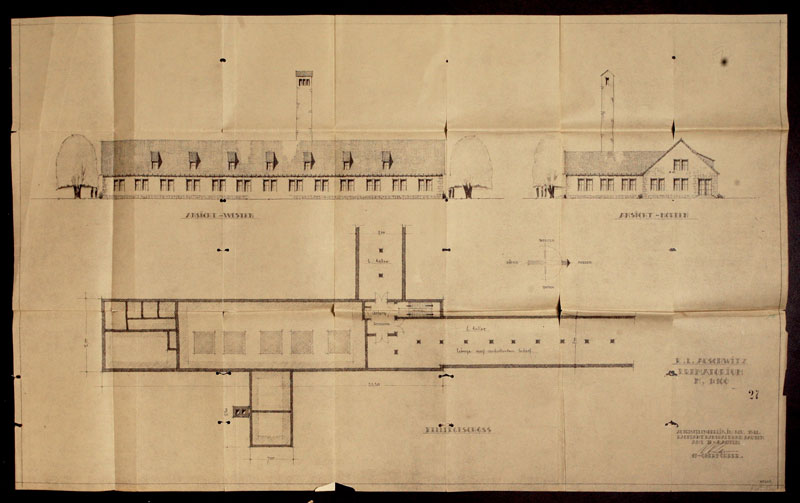Architecture Of Murder The Auschwitz Birkenau Blueprints