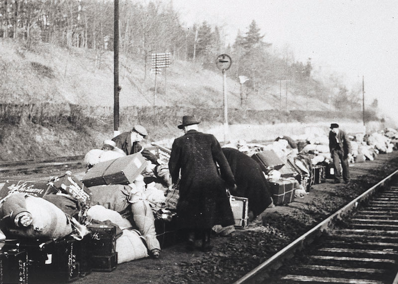 Jewish Deportation During The Holocaust 24 march 1942  items belongingJewish Deportation During The Holocaust