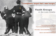 Youth Groups in the Lodz Ghetto