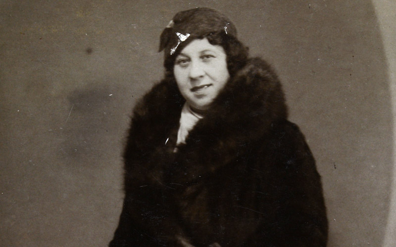 Helena Paluch, Londres, 1924