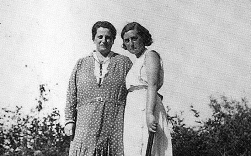 Anne Meininger and her daughter Hilde